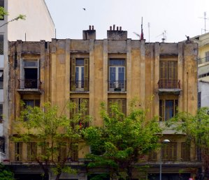 Salonika Abandoned Art Deco House