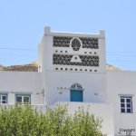Villa decorated as a dovecote (Tinos)