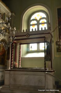St Andrew's tomb, Patras, Greece