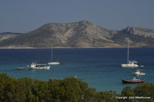 View from Ano Koufonissi to Keros