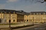Metz buildings in yellow Jaumont stone