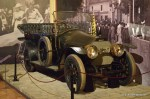 The car in which Franz Ferdinand was assassinated in Sarajevo.