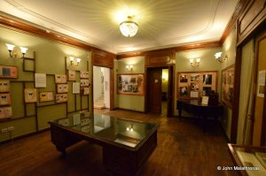 The entomology room in the Nabokov museum