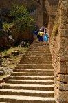 The outside stircase, Acropolis of Lindos
