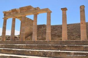 The Propylaia, Acropolis of Lindos