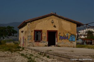 Old station master's house Corinth