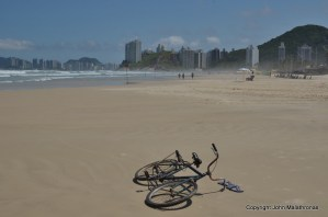 Bicycle Guaruja beach