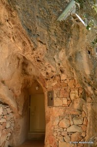 The entrance to the Chauvet cave
