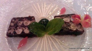 Terrine of oysters