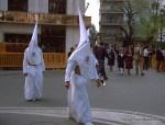 Nazarenos by the Corte Ingles, Seville, Semana Santa