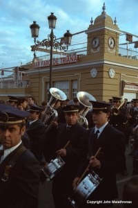 Church Band at Triana, Semana Santa, Seville