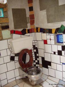 Hundertwasser female toilet