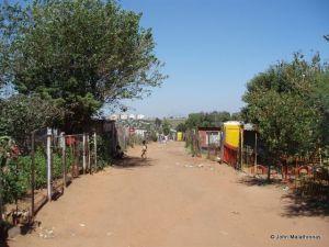 Elias Motsoaledi squatter camp near Soweto