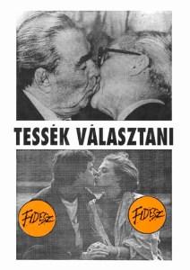 Fidesz election poster 1990