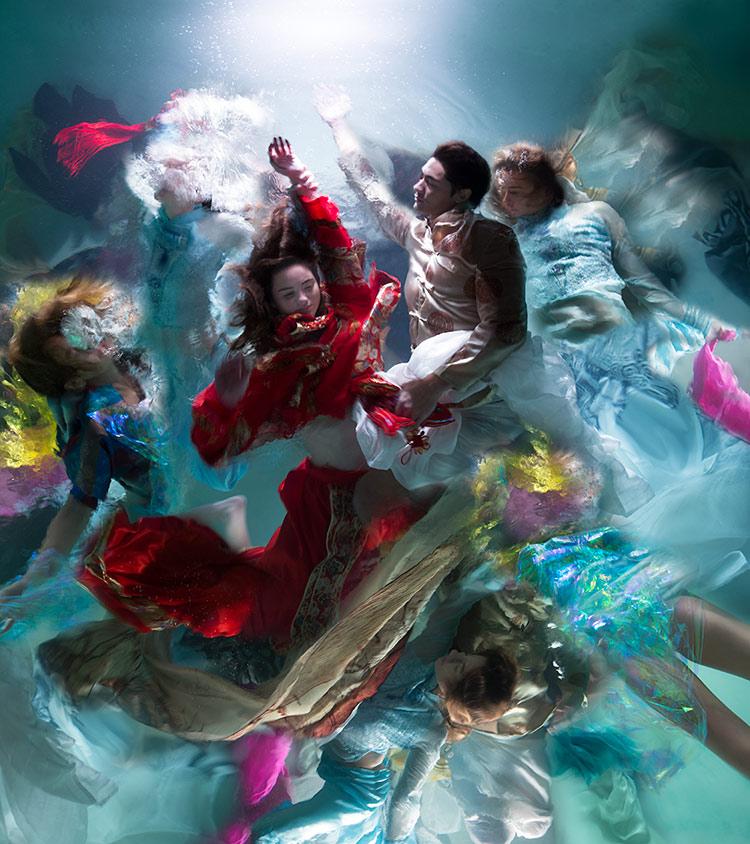 Christy Lee Rogers evoca el arte barroco con fotografa