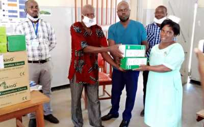 KASFA in partnership with Just Trading Scotland donates PPE to Rural Community Health Centers