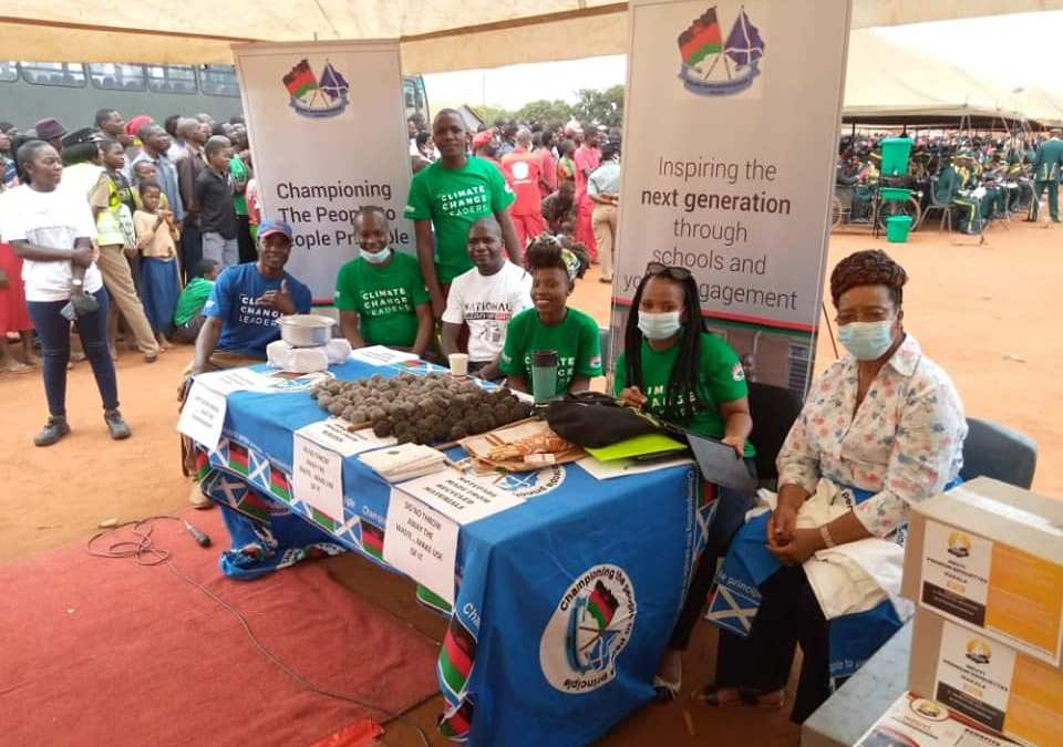 MaSP Particpates in National Clean-Up Day Launch.