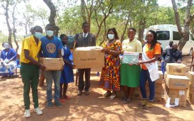 Embangweni Primary and Secondary Schools for the Deaf Receive Donations