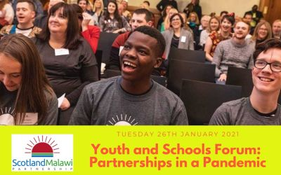 Youth and Schools Forum – 26th January