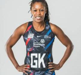 Towera Vinkhumbo Continues to Shine for Scottish Side Strathclyde Sirens