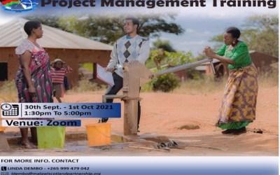 Project Management Training Announcement