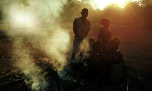 boys practicing witchcraft (photo file)
