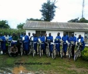 Lead beneficiaries in Karonga