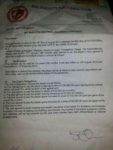 Chande contract copy