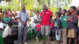 Mulinga(in Red): Let's Keep the Youth Busy