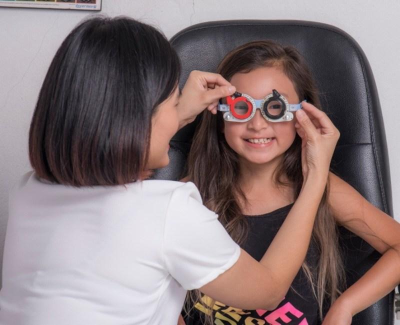 Slowing down myopia in children