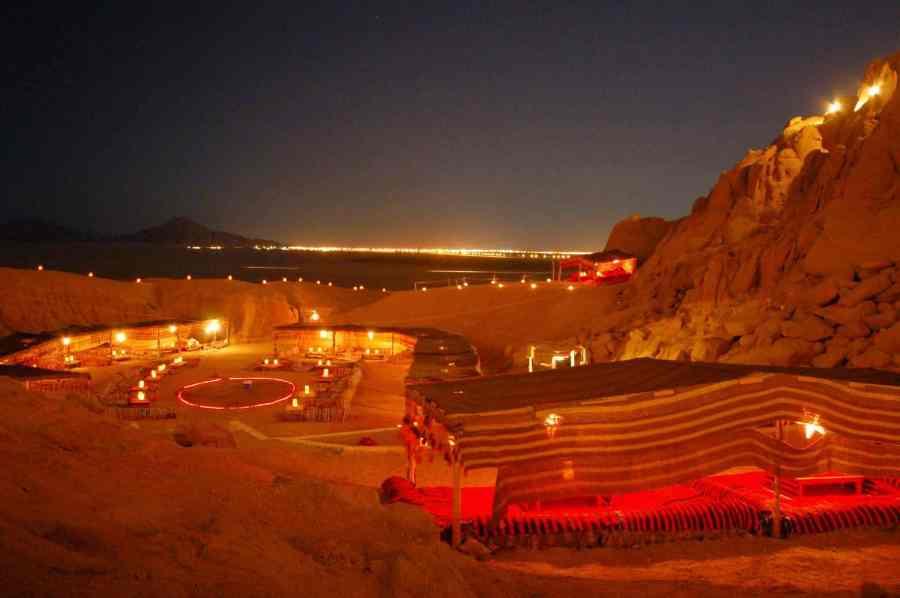 خليج نعمة اجمل مكان في شرم الشيخ