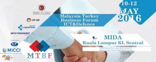 Malaysia Turkey ICT & Defense B2B event