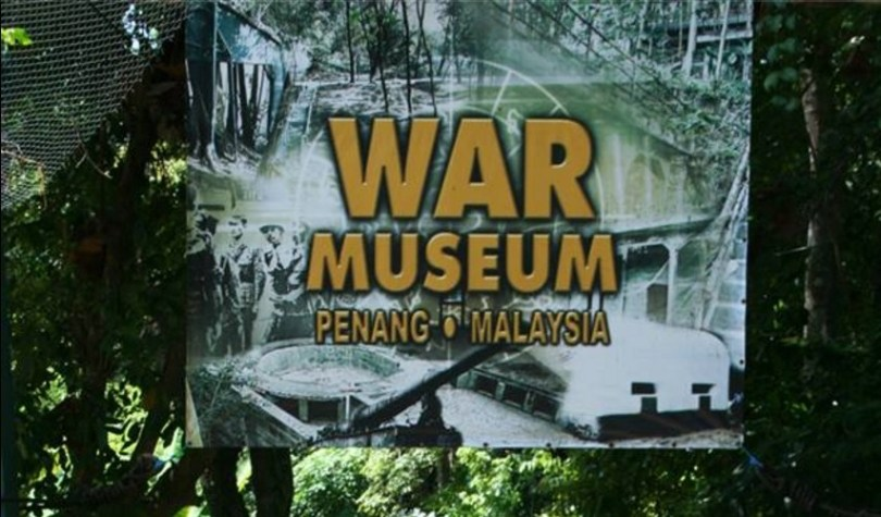 The World War 2 Museum of Penang.