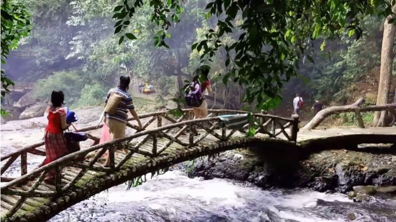 The bridge of Bukit Hijau stream.