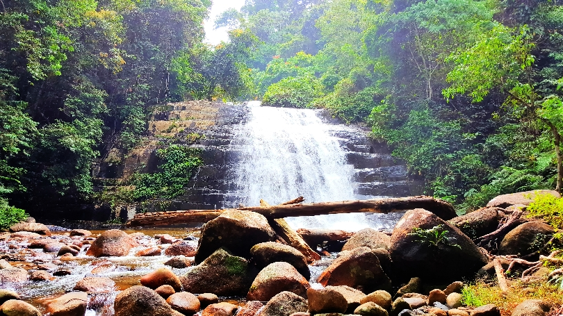 the-upper-waterfall of Bukit Hijau