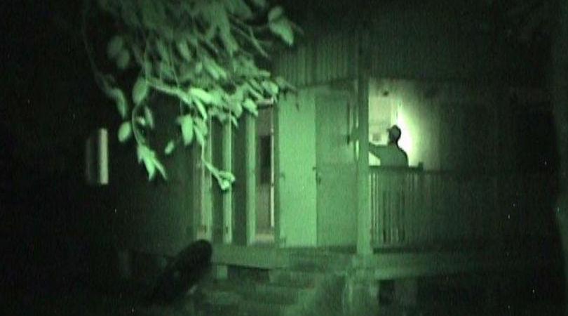 Ghost research in an abandoned house.