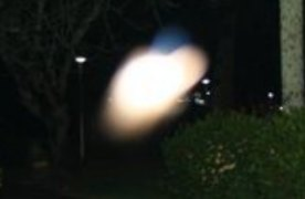 zoomed photo of bright light ghost energy