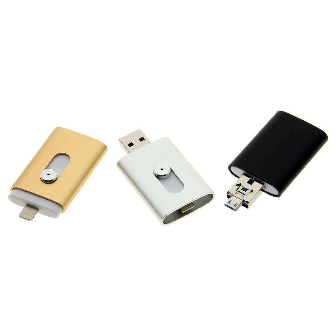 OT006 3 in 1 Apple OTG USB Drive