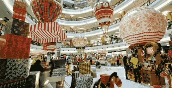 Christmas in Kuala Lumpur Mall