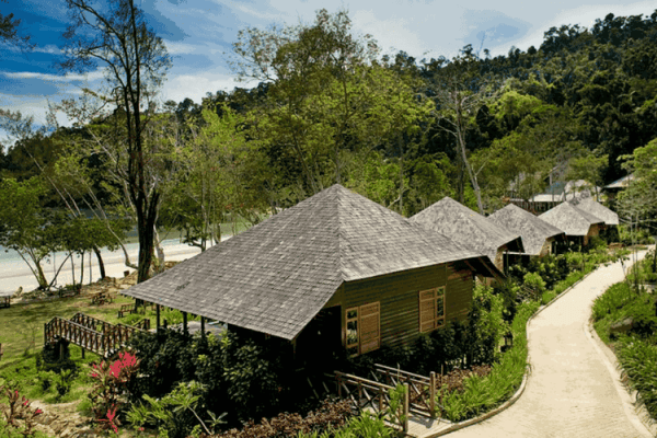 Bunga Raya Resort, Borneo