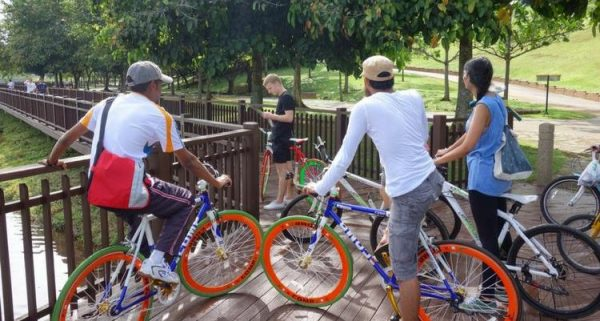 Putrajaya on a Bicycle