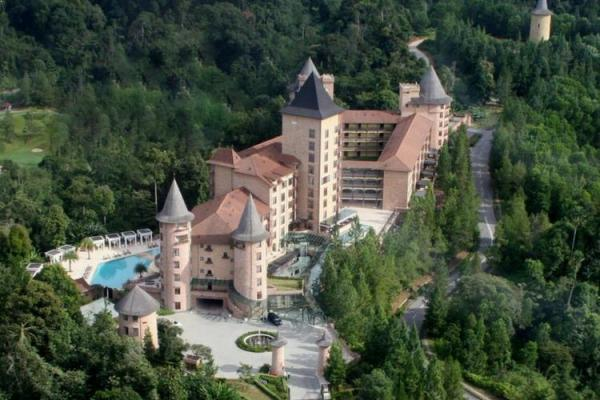 The Chateau Spa and Organic Wellness Resort, Berjaya Hills