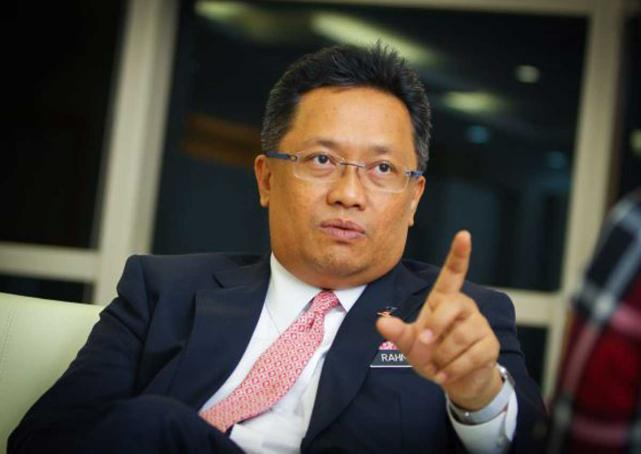Abdul Rahman Dahlan, the Minister in the Prime Minister's Department