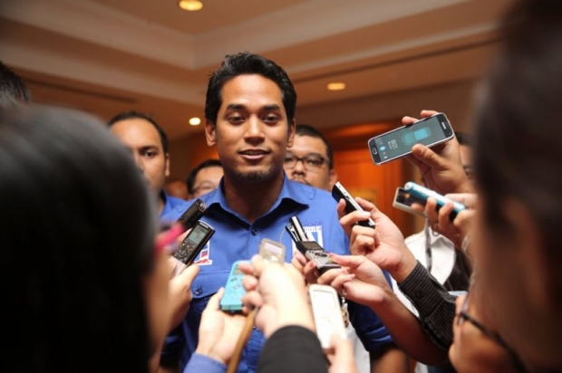 Umno Youth Chief Khairy Jamaluddin urges the authorities to crackdown on the Bersih 5 rally before