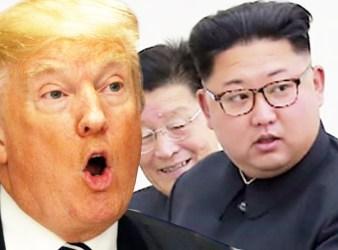 donald trump and kim jong un war of words