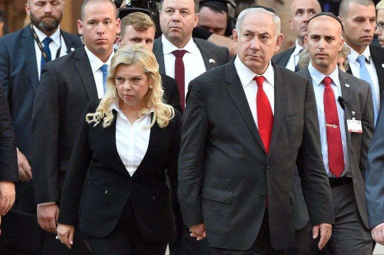 Sara Netanyahu left Prime Minister Benjamin Netanyahu over multiple corruption inquiries. Credit Associated Press