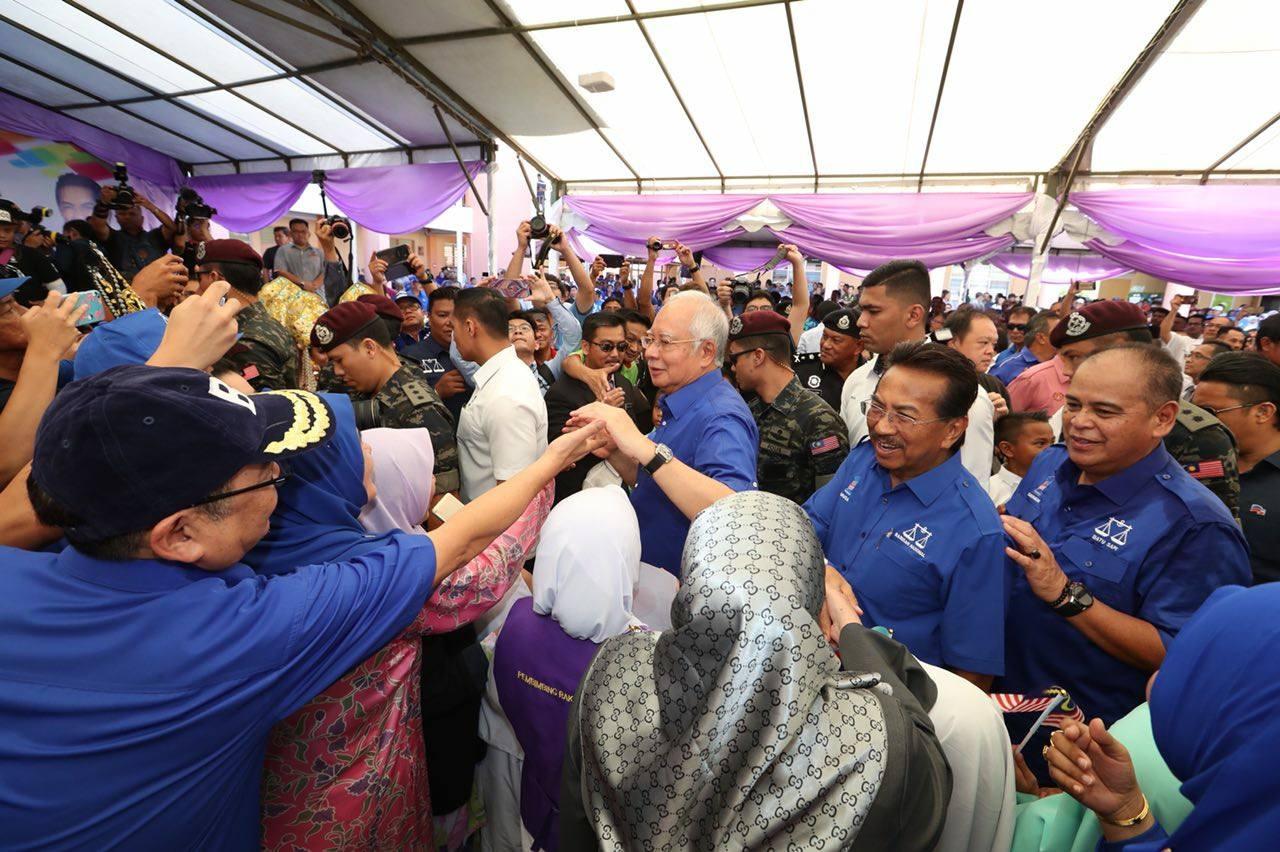 Najib Razak in Sabah
