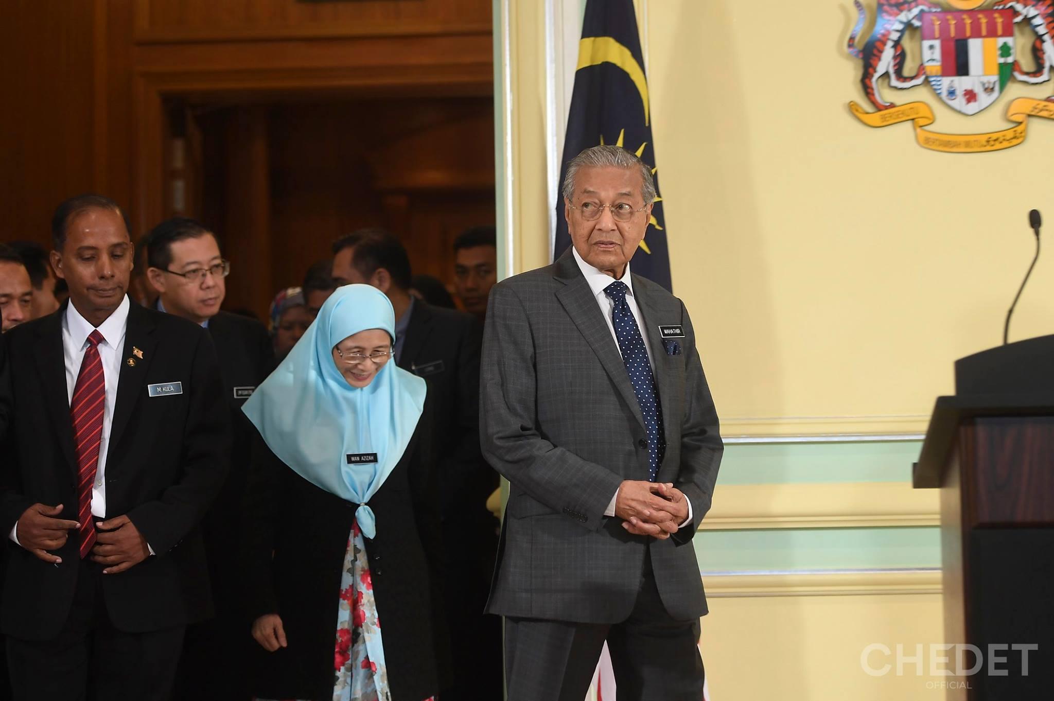 Dr mahathir umno cheated malays