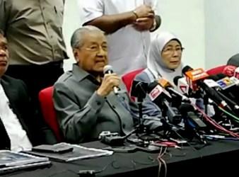 dr Mahathir and sabu and wan azizah