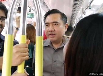 minister of transport malaysia test train